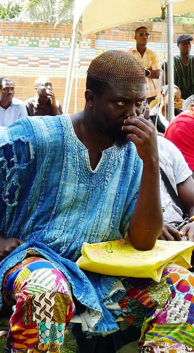 kari-kacha seid'ou, art tutor at KNUST, Kumasi